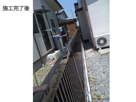 タウンフェンス TW-2型 縦格子フェンス 自由柱タイプ