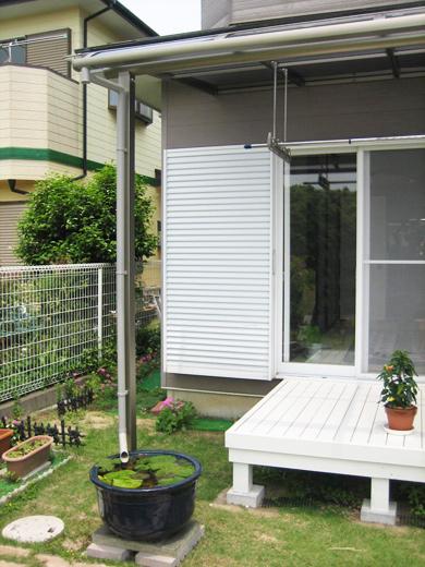 サンライズテラスR屋根 2.0間(3806mm) x 7尺(2150mm)
