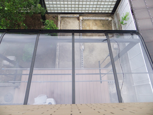 「人工樹脂ウッドデッキセット」2.0間×1500「サンライズテラス」2.0間×6尺