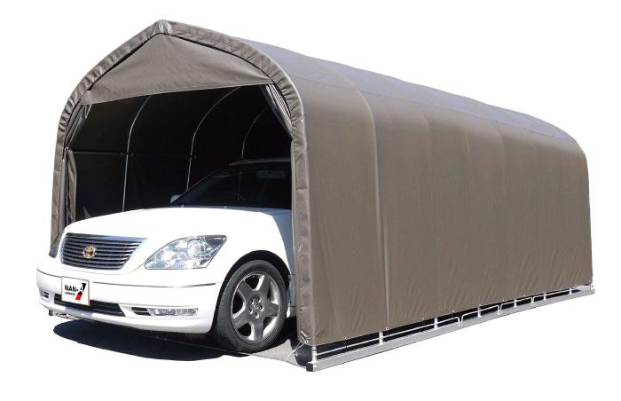 セダン用 パイプ車庫 ベース式車庫 幅3.0m×奥行5.6m×高さ2.4m
