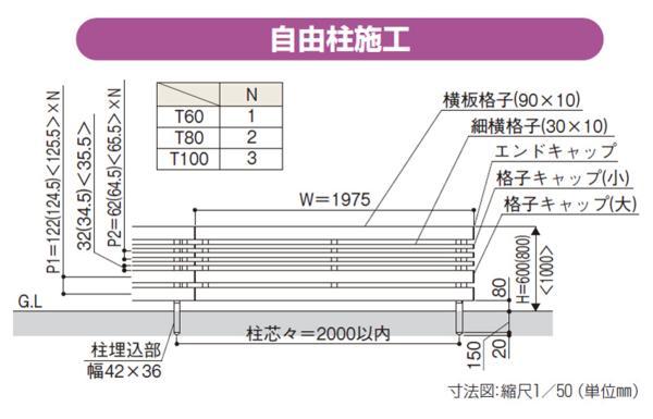 YKKルシアス フェンスシリーズ「H04型」