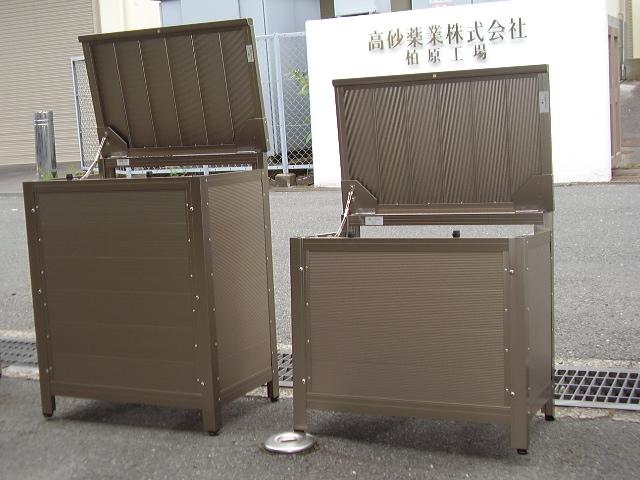 軽量で機能性抜群の収納箱「アルミストッカー」
