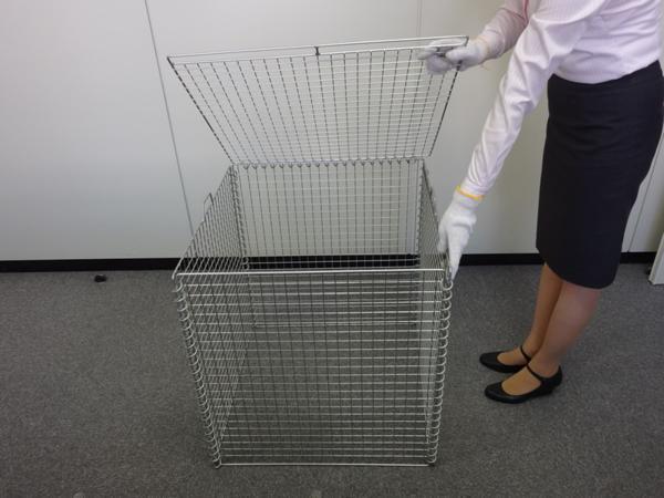 サンキン折り畳み式ゴミ収集箱『リサイクルボックス』