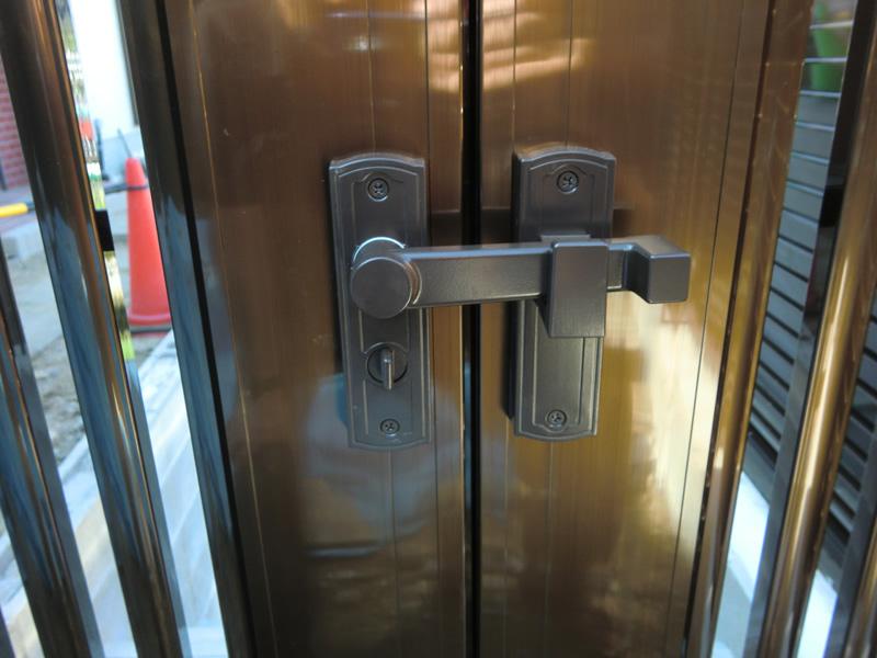 門扉「横格子セット1型両開き」