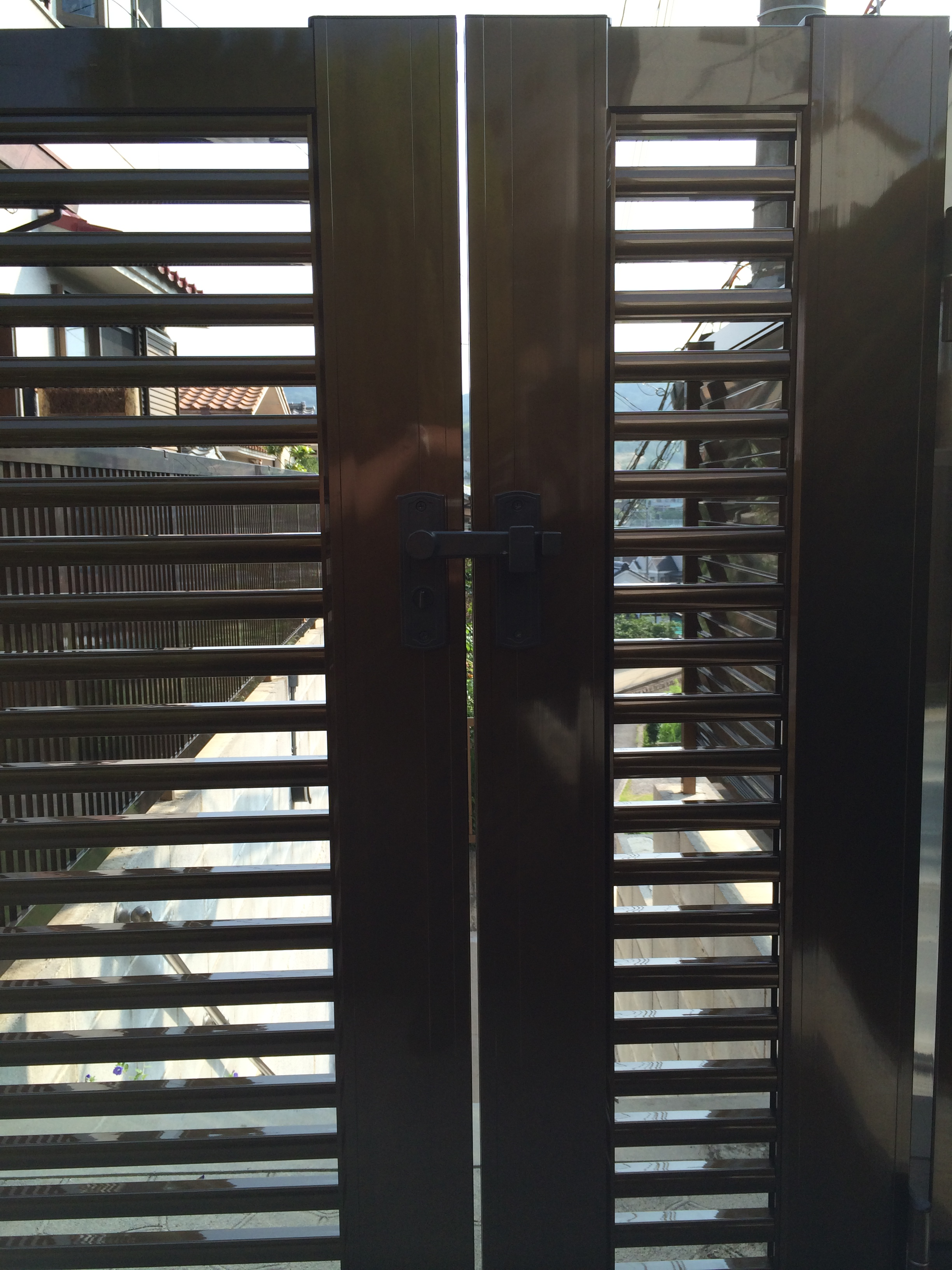 門扉「横格子セット1型親子扉」
