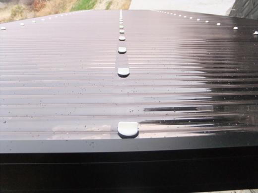 1台用波板カーポート「エクセル」(オプション:丸樋・波板)
