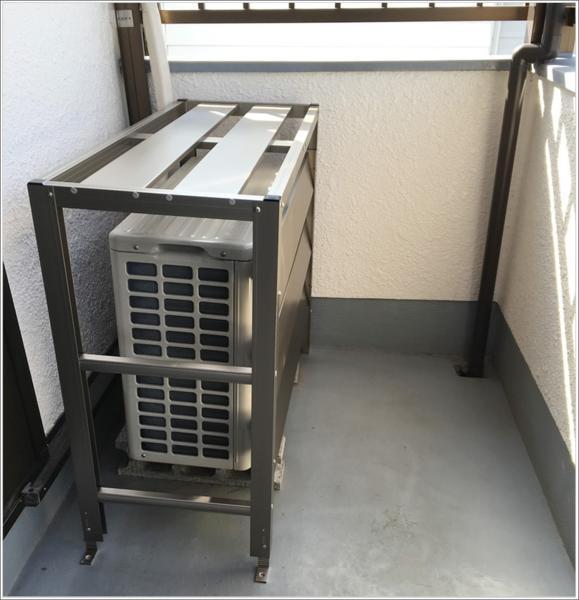 アルミ製室外機カバー