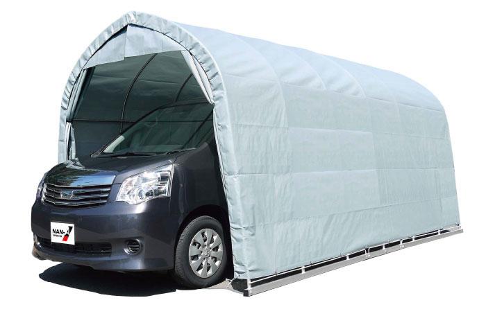パイプ車庫 張替シート3幕セット 2748B中型BOX用 間口2.7m×奥行4.8m×高さ2.45m