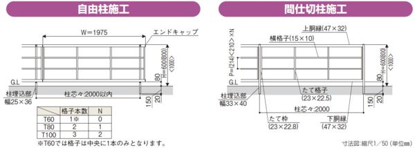 YKKルシアス フェンスシリーズ「H05型」