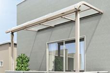 R屋根タイプバルコニーテラス 2階3階用
