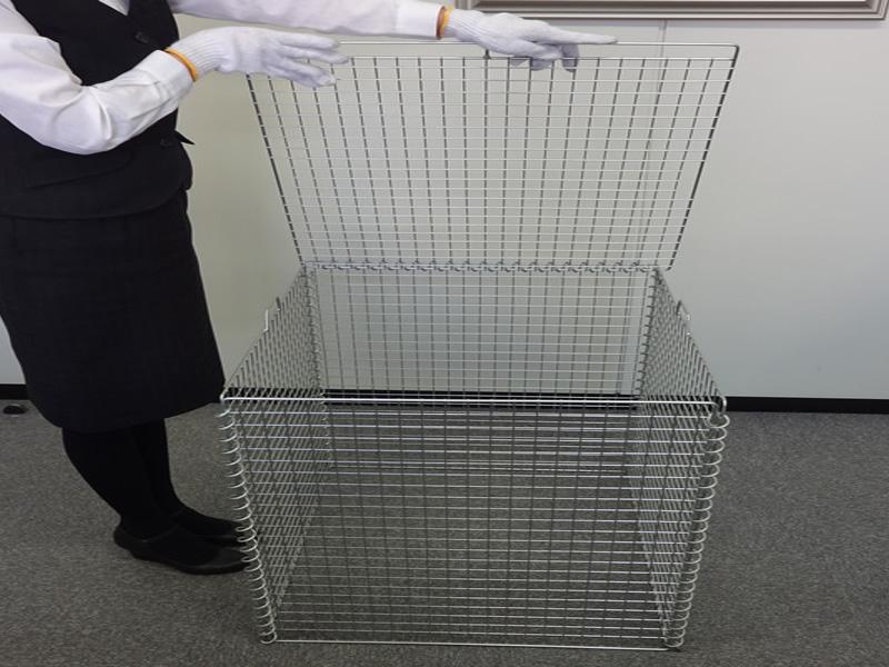 折り畳み式ゴミ収集箱 リサイクルボックスGPE-310