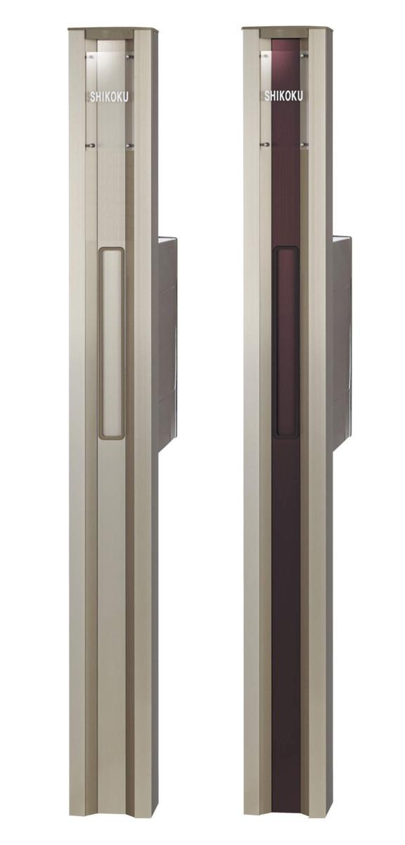 照明付き機能門柱 Lタイプ【インターホン無し仕様】