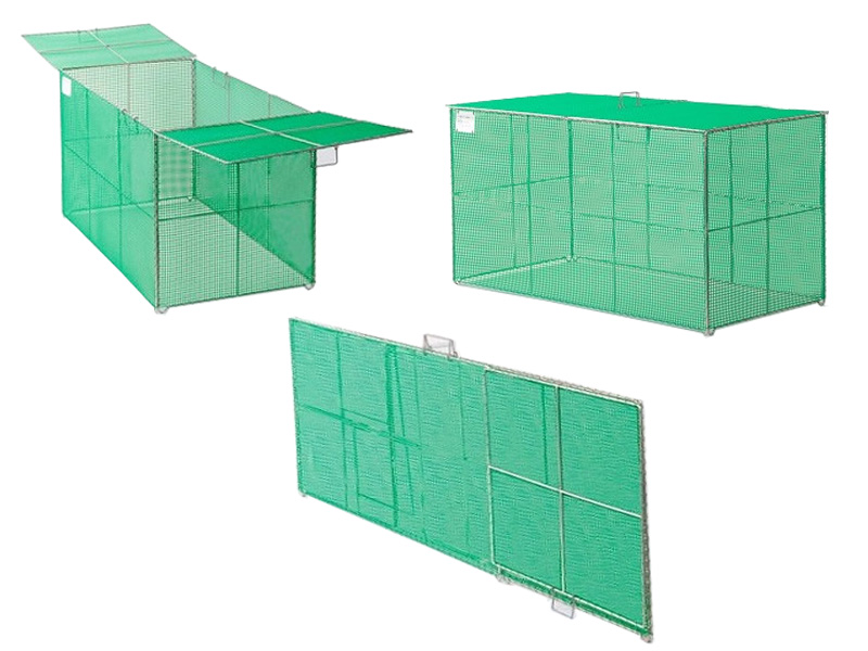 折り畳み式ごみ収集箱K-120