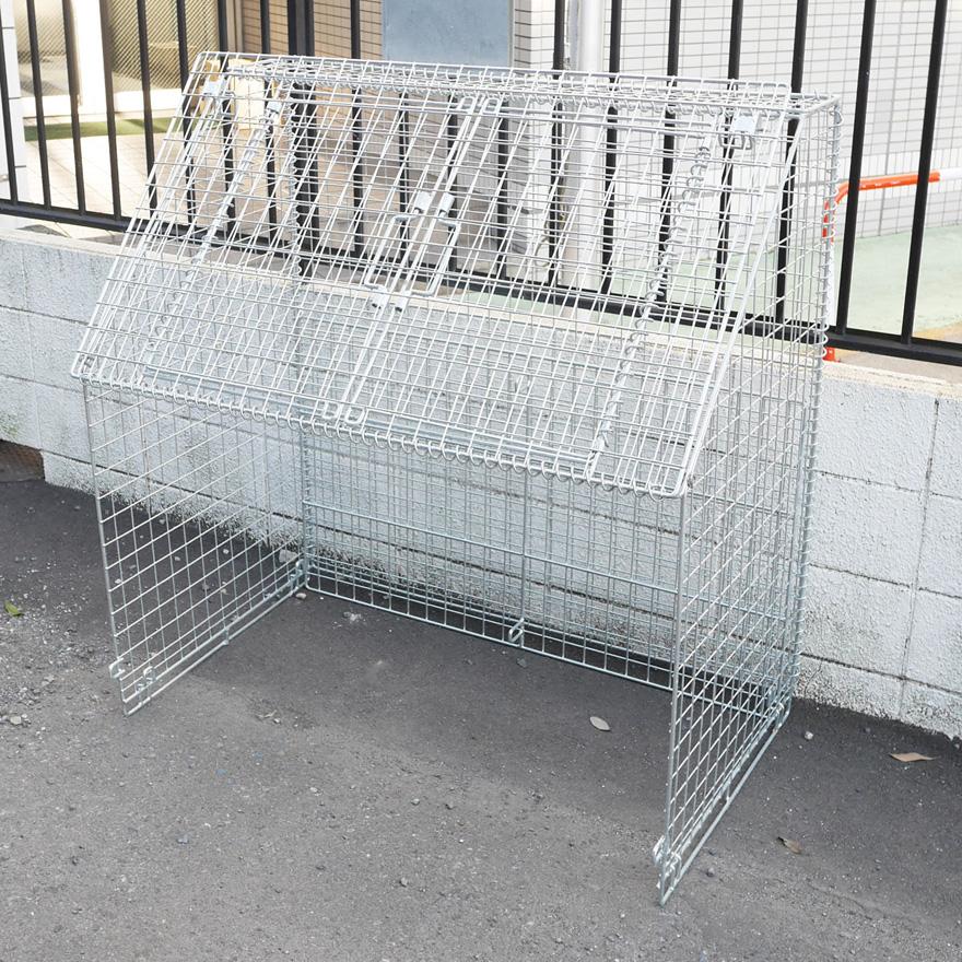 折り畳み式ゴミ収集箱 リサイクルボックスPP-860