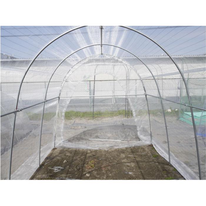全面防虫ネットハウス 前幕中央ファスナー式 2.4坪 全面防虫網 WD-2236