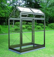 アルミ製ガラス温室 ガラス付き A-1型:CYP-A1G