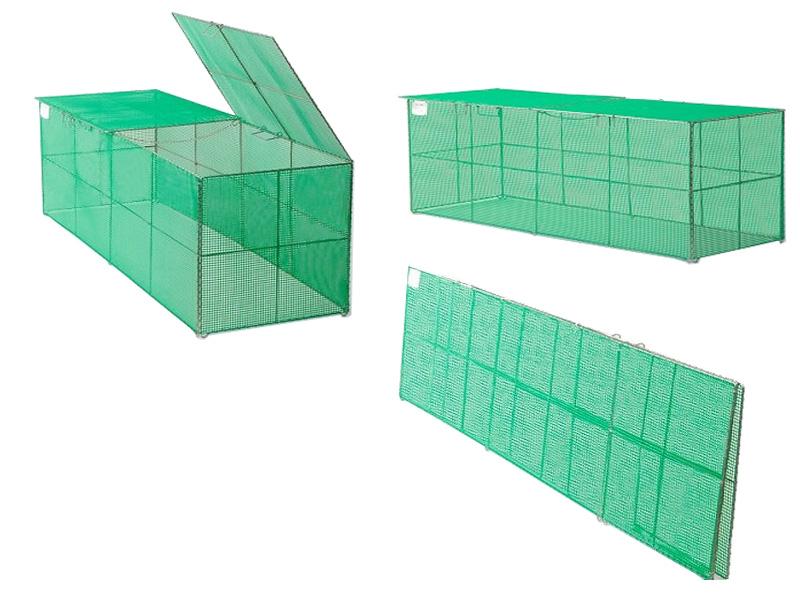 折り畳み式ごみ収集箱K-180