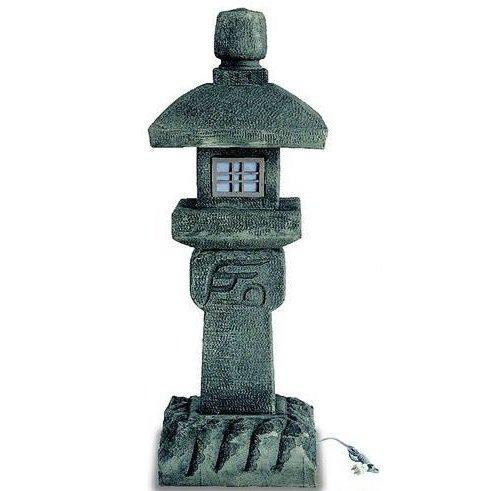 人工石「織部灯篭」