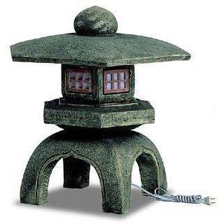 人工石「古代雪見灯篭」