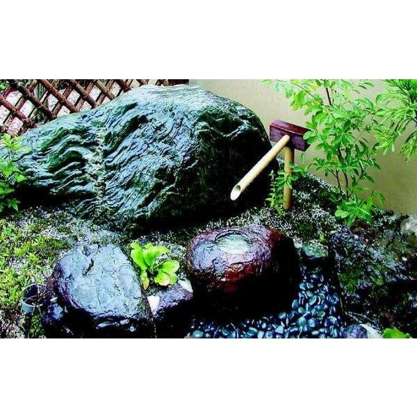 人工竹「擬木筧 – かけひ」