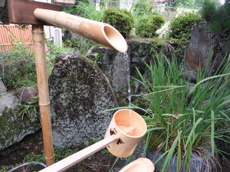 天然竹「天然竹筧 – かけひ」
