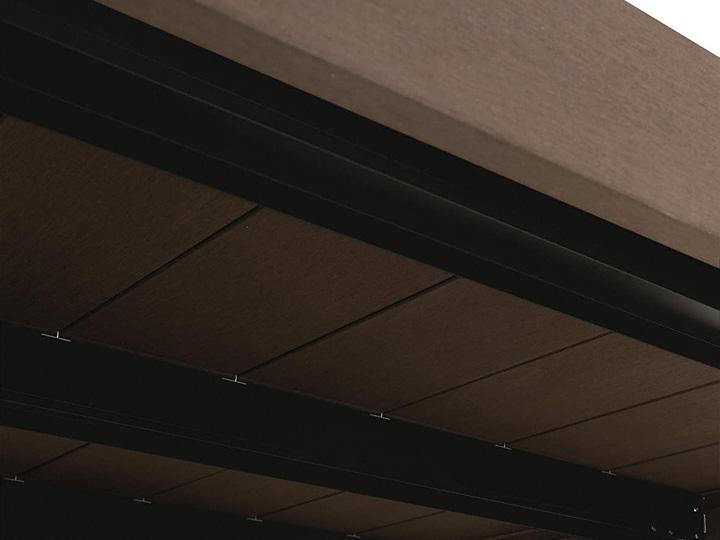 人工木 YKKapリウッドデッキ200 Sタイプ柱固定式